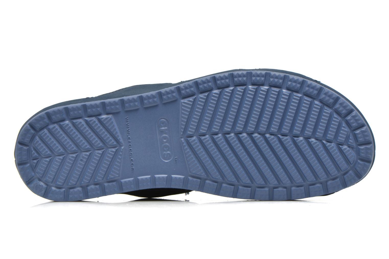 Clogs & Pantoletten Crocs Crocs Anna Slide blau ansicht von oben