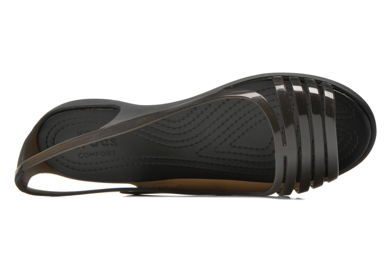 Crocs Isabella Huarache Flat W Black