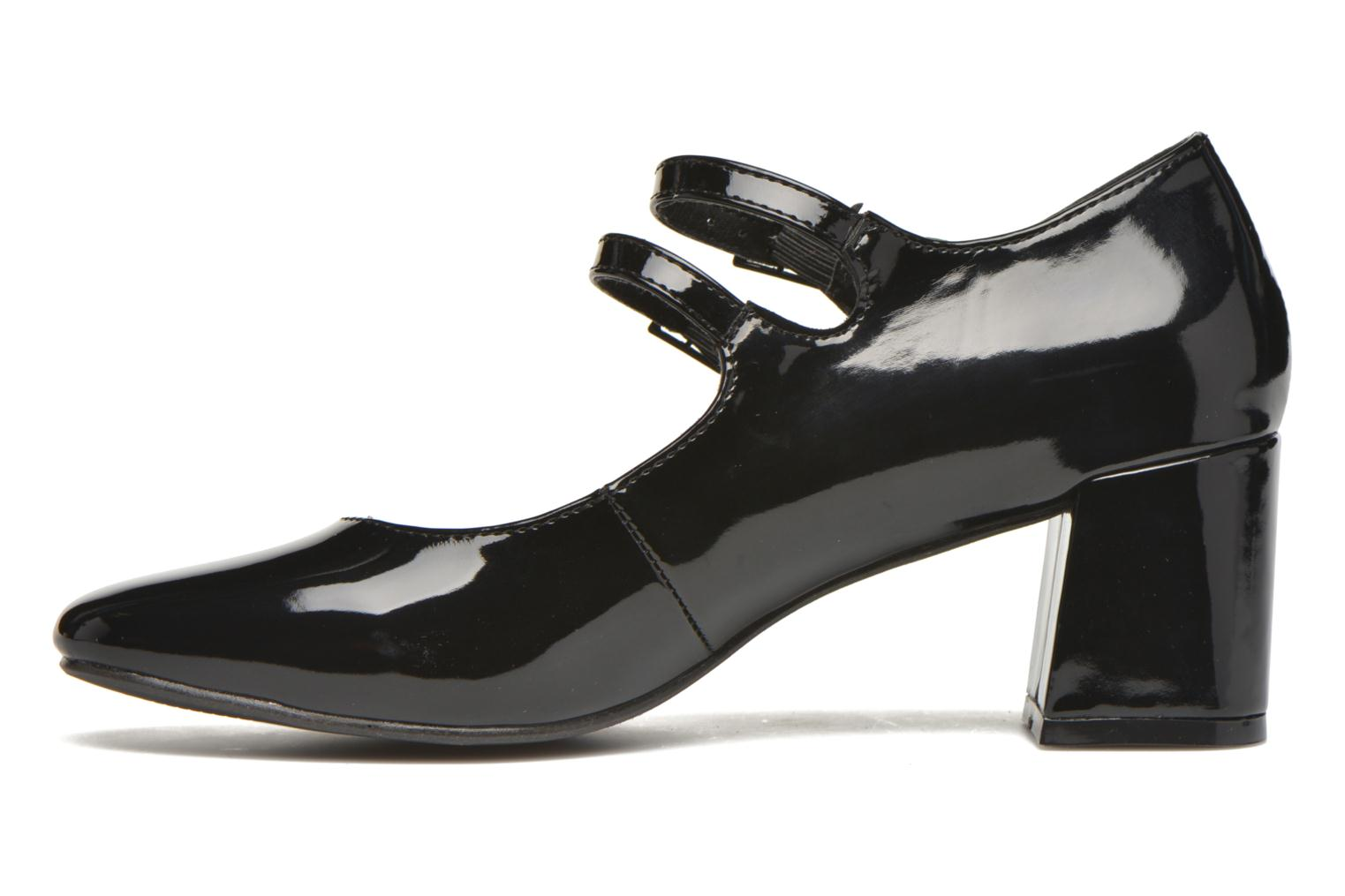 High heels I Love Shoes KIBABE Black front view