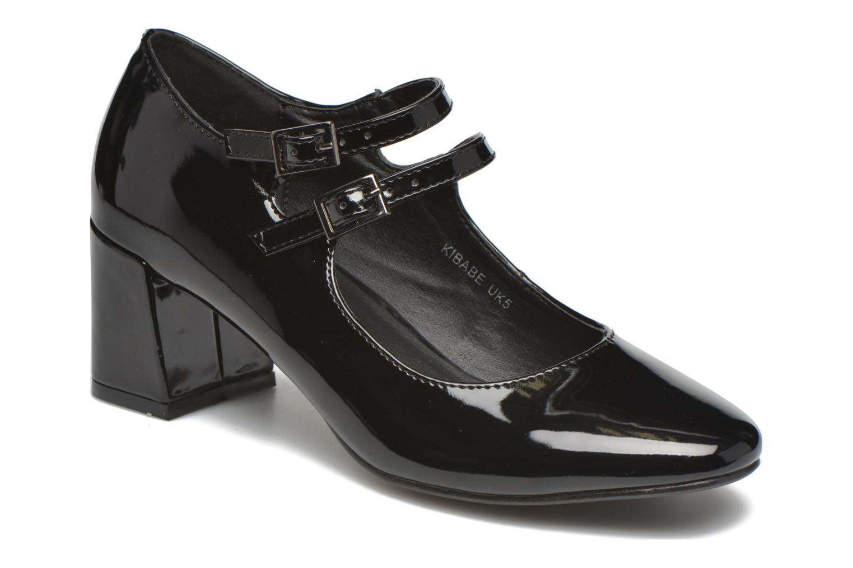 Høje hæle I Love Shoes KIBABE Sort detaljeret billede af skoene