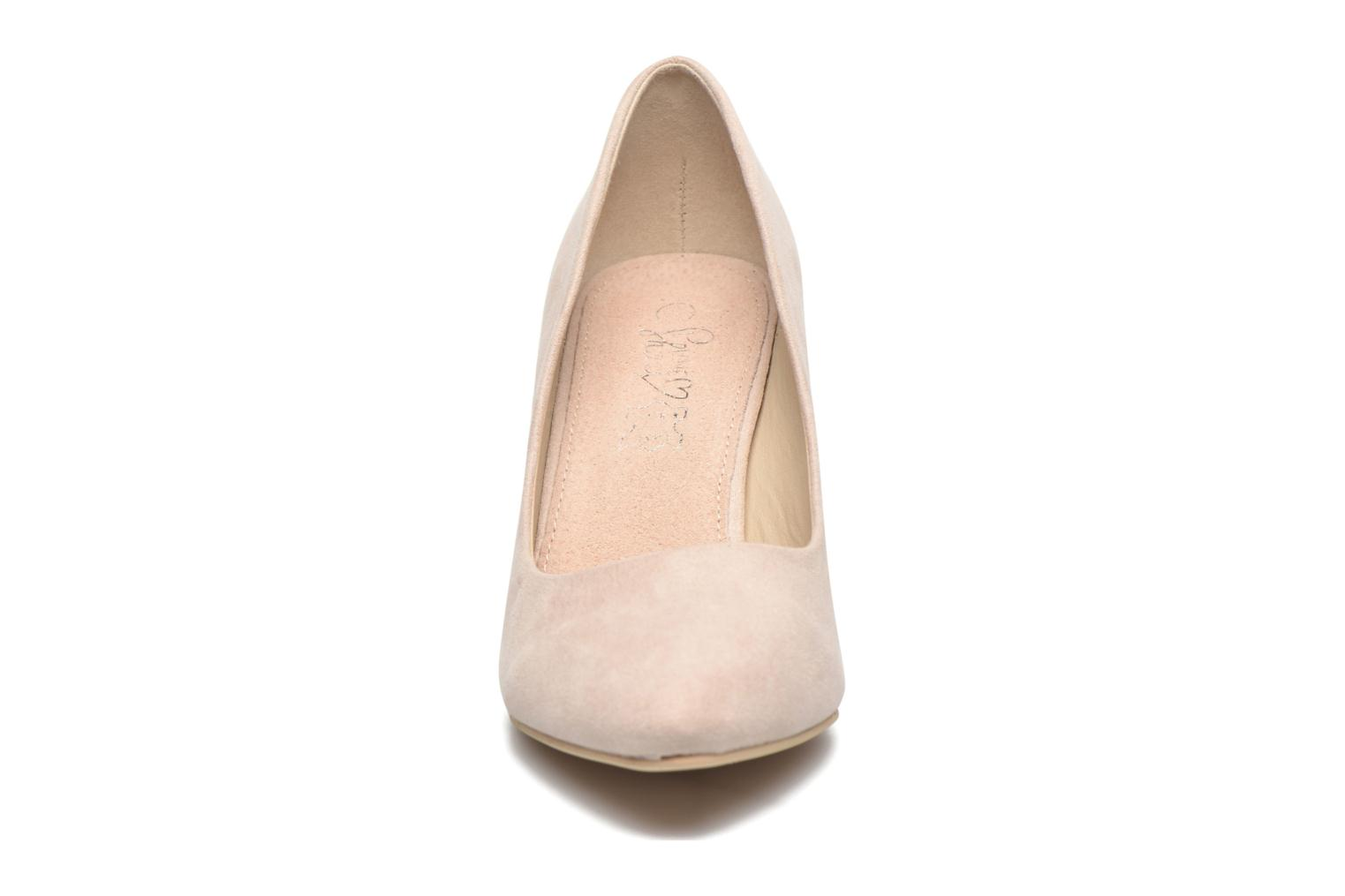 High heels I Love Shoes KIPOINT Beige model view