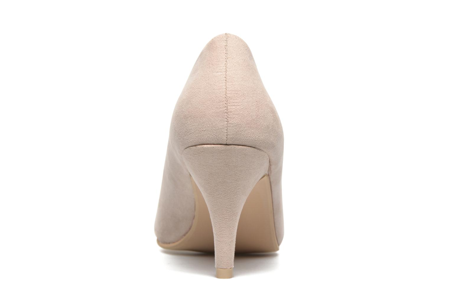 High heels I Love Shoes KIPOINT Beige view from the right