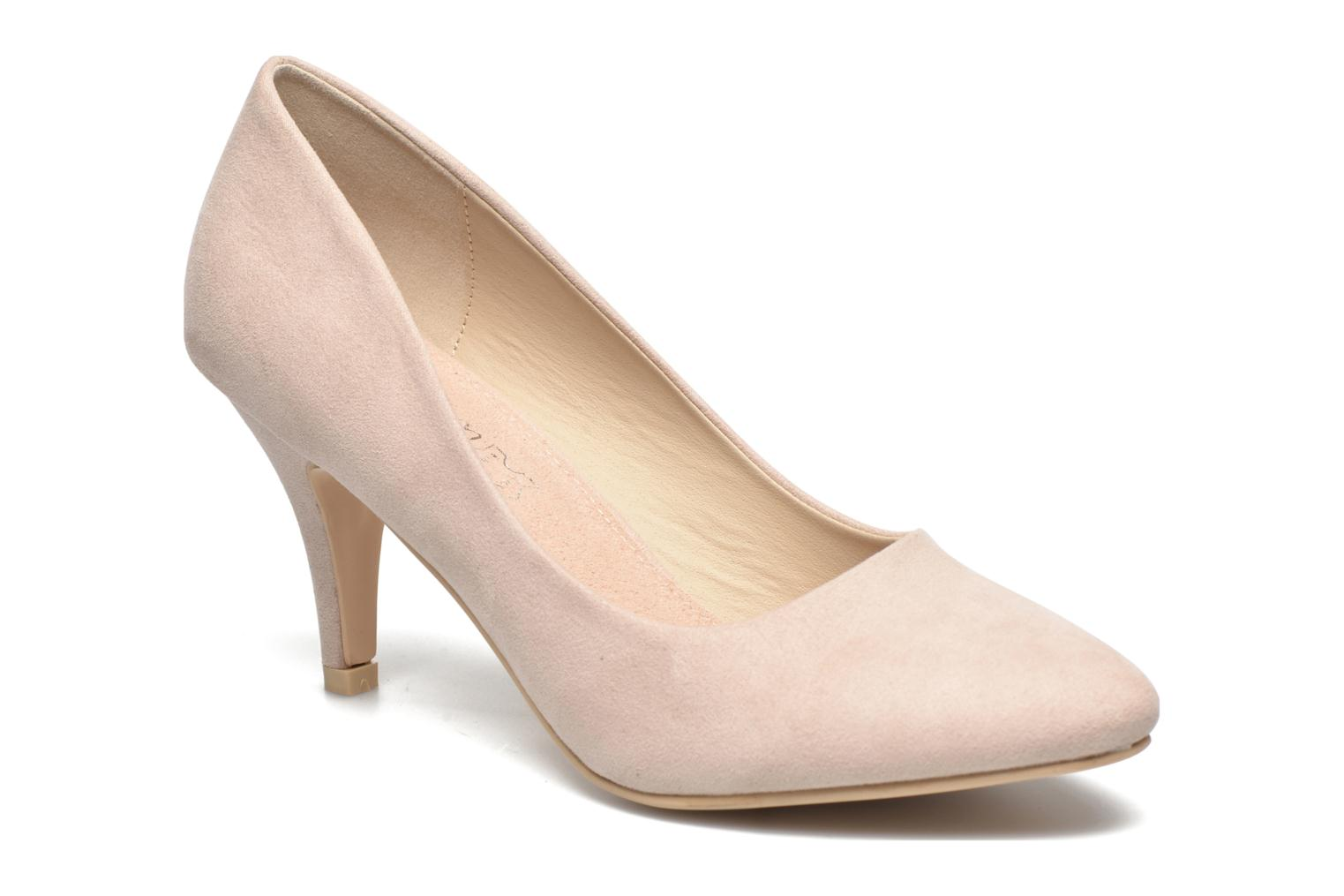 High heels I Love Shoes KIPOINT Beige detailed view/ Pair view