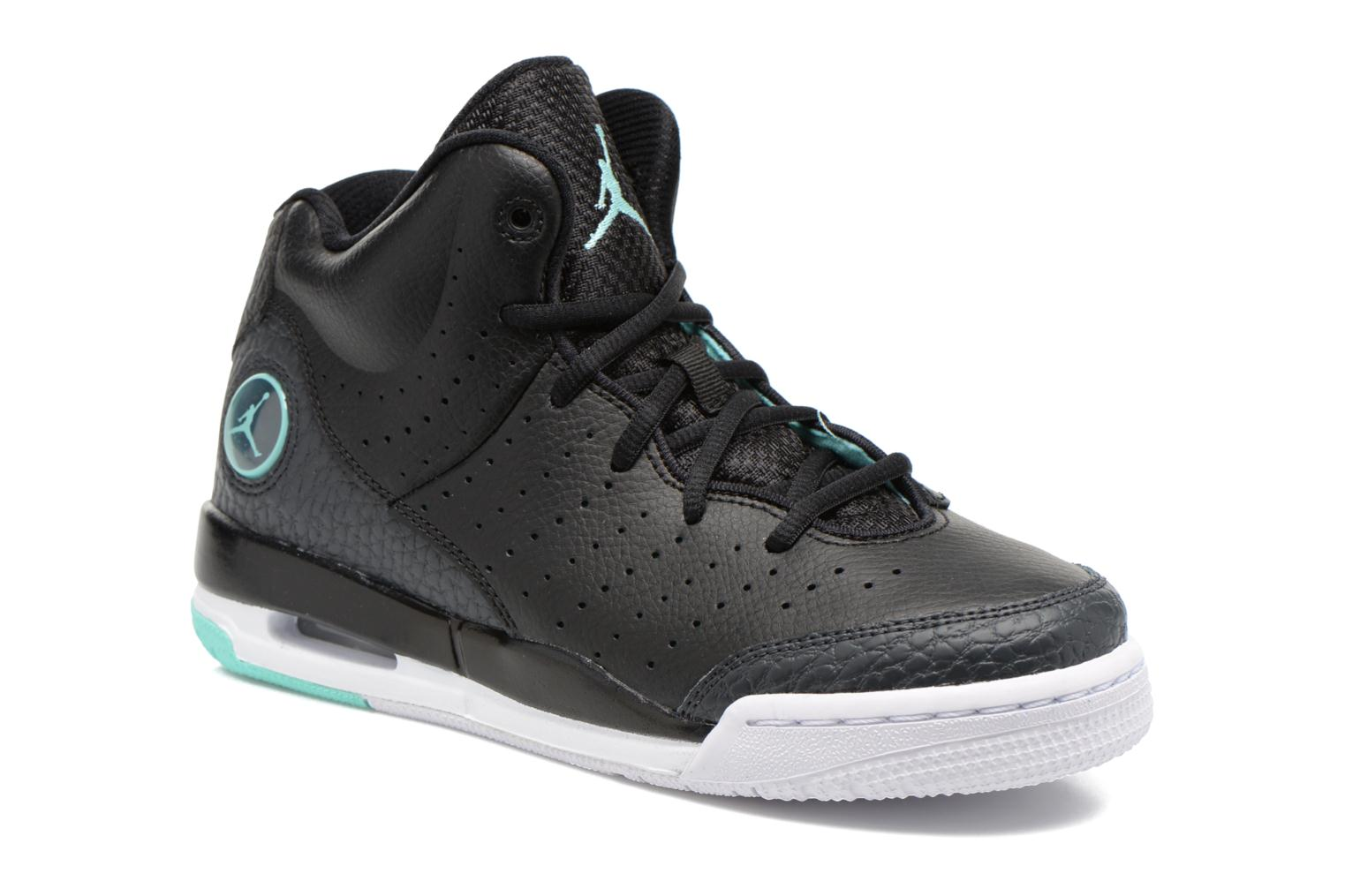 Jordan Flight Tradition Bg Black/Hyper Turq-Anthrct-White