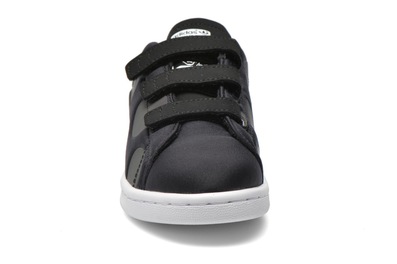 Baskets Adidas Originals Stan Smith Xenopeltis CF C Noir vue portées chaussures