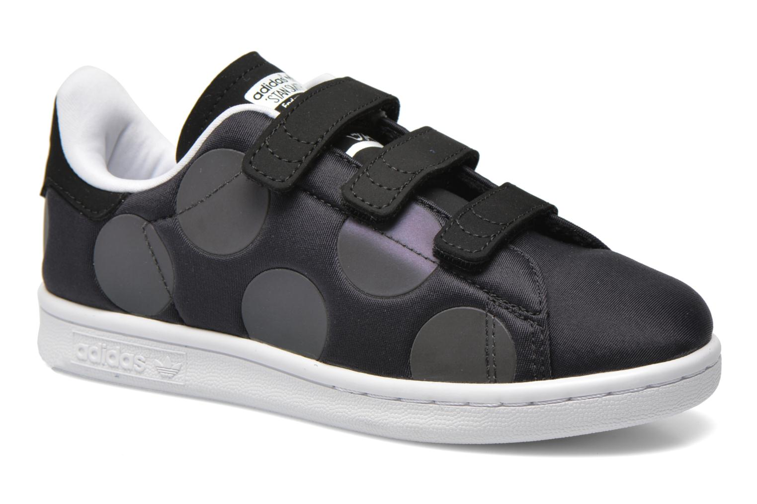 Trainers Adidas Originals Stan Smith Xenopeltis CF C Black detailed view/ Pair view