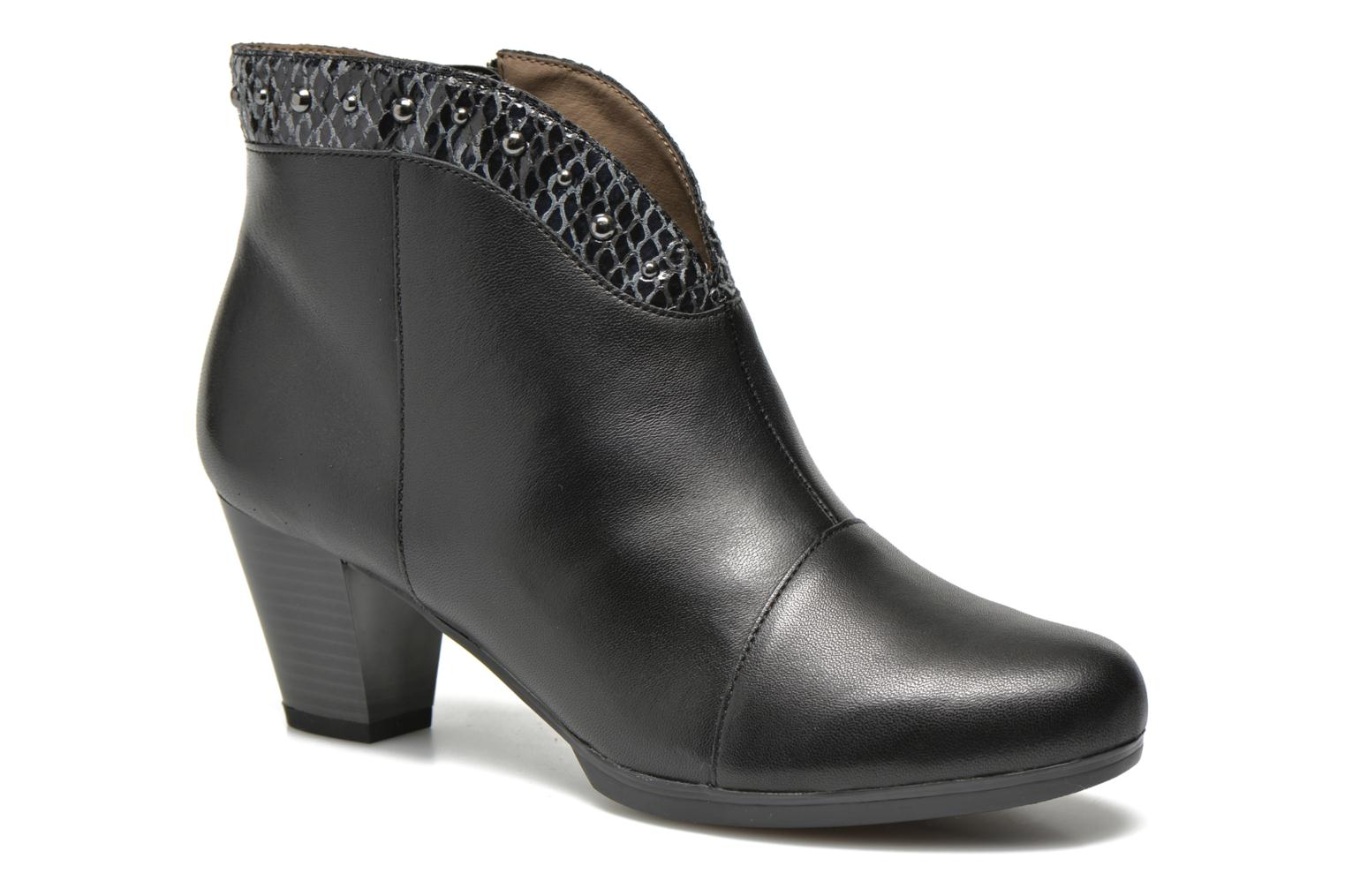 Ankle boots Sweet Tuiter Black detailed view/ Pair view