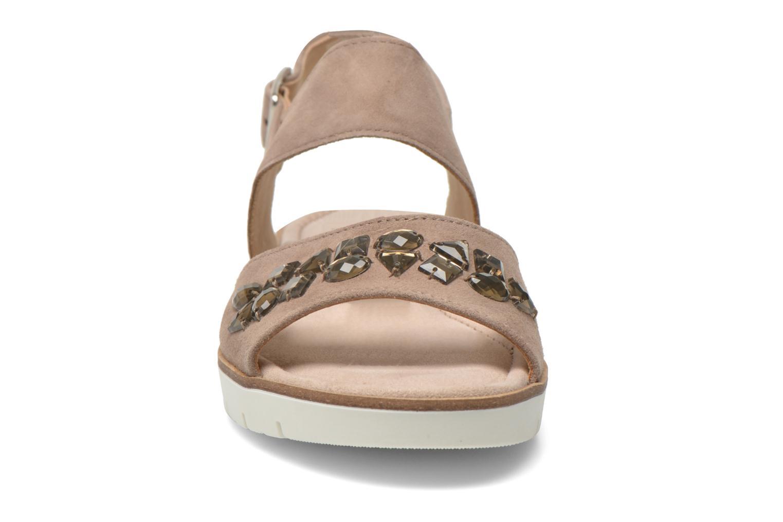 Sandales et nu-pieds Gabor Margaux Marron vue portées chaussures