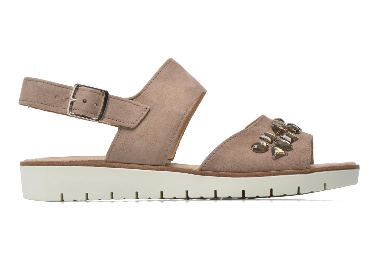Sandales et nu-pieds Gabor Margaux Marron vue derrière