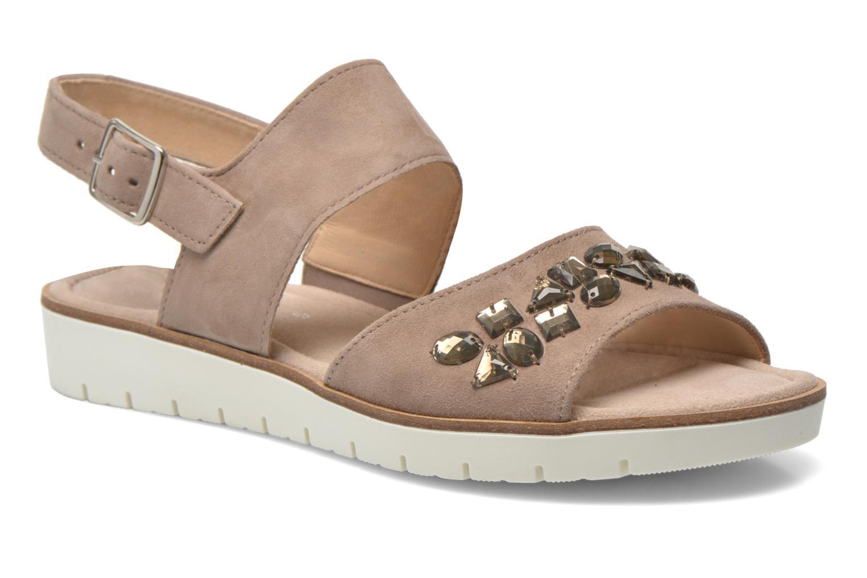 Sandales et nu-pieds Gabor Margaux Marron vue détail/paire