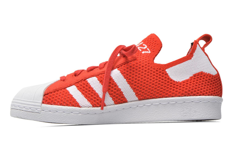 Baskets Adidas Originals Superstar 80S PK W Rouge vue face