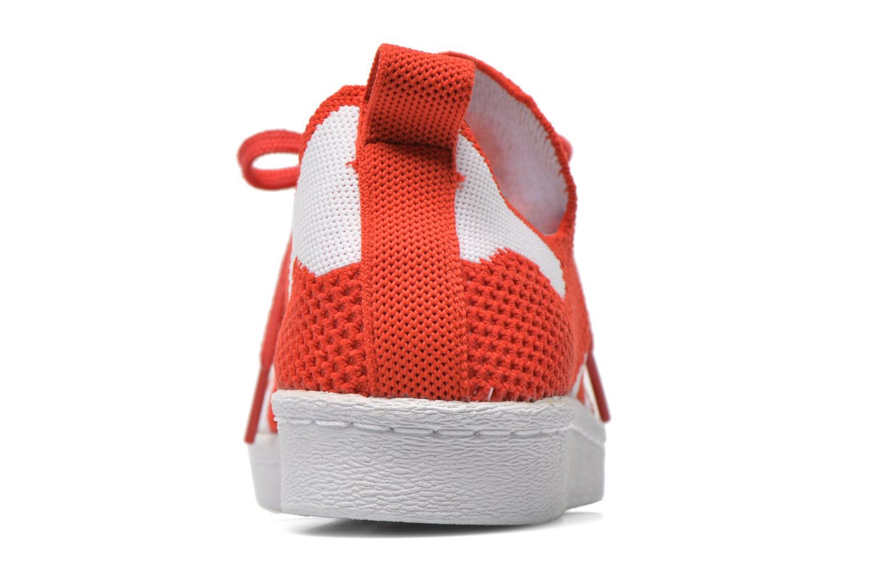 Deportivas Adidas Originals Superstar 80S PK W Rojo vista lateral derecha