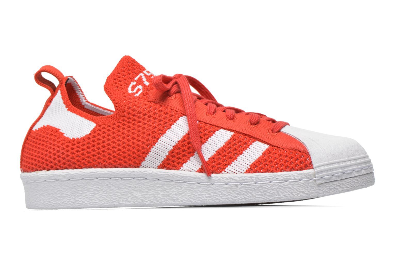 Baskets Adidas Originals Superstar 80S PK W Rouge vue derrière