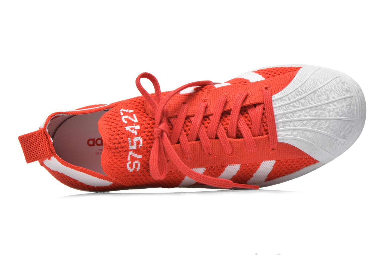 Deportivas Adidas Originals Superstar 80S PK W Rojo vista lateral izquierda