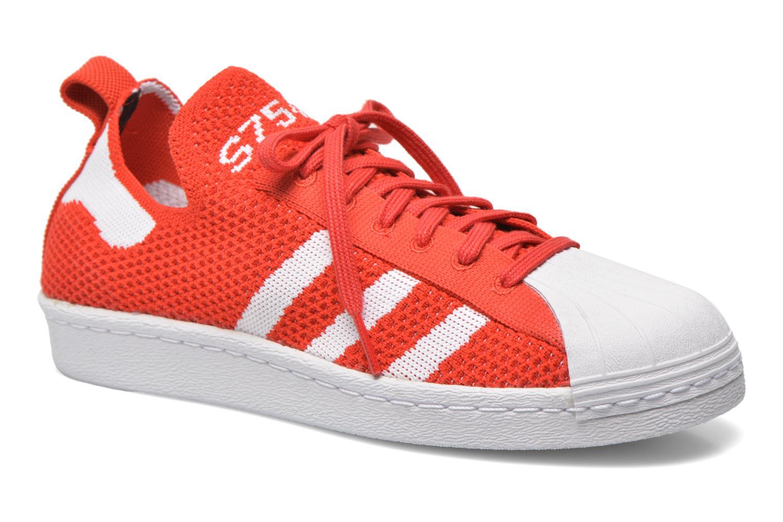 Deportivas Adidas Originals Superstar 80S PK W Rojo vista de detalle / par