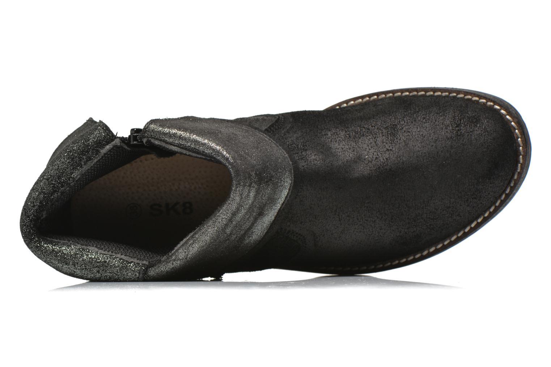 Botines  Bopy Haldec SK8 Negro vista lateral izquierda