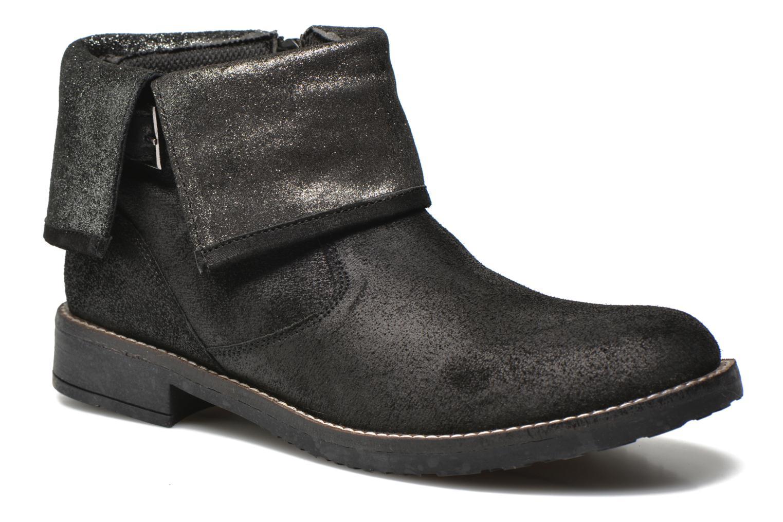 Bottines et boots Bopy Haldec SK8 Noir vue détail/paire