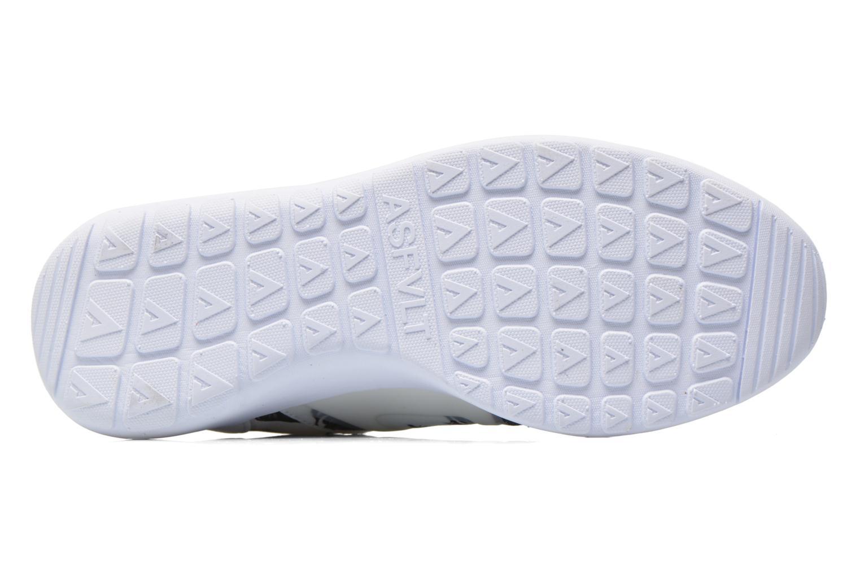 Baskets Asfvlt Super Tech Blanc vue haut