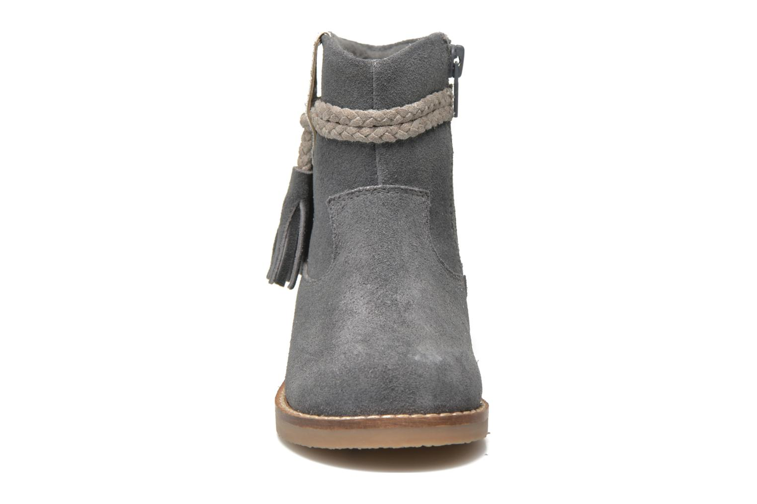 Ankle boots I Love Shoes KERRIES Leather Grey model view