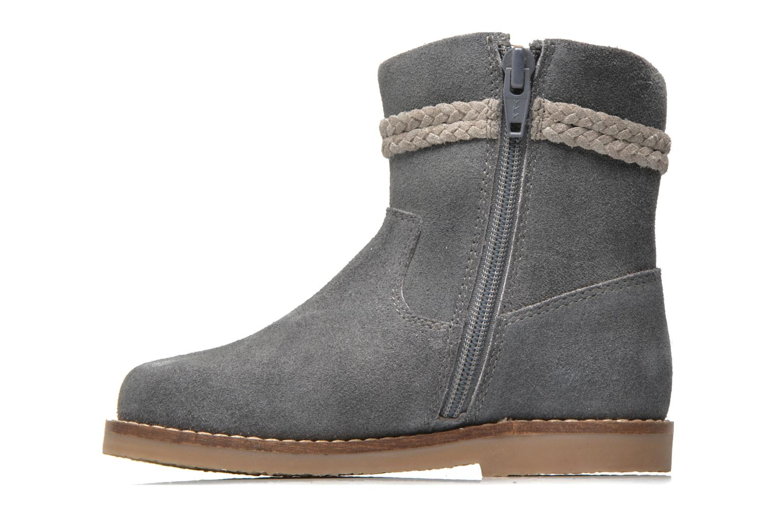 Ankle boots I Love Shoes KERRIES Leather Grey front view