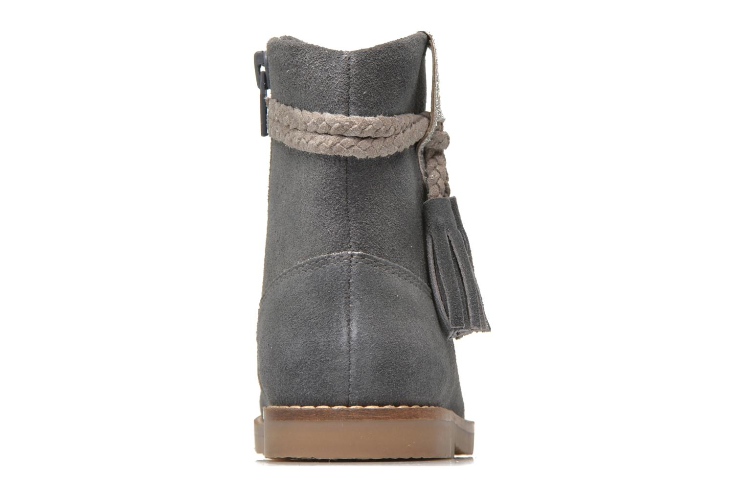 Ankle boots I Love Shoes KERRIES Leather Grey view from the right
