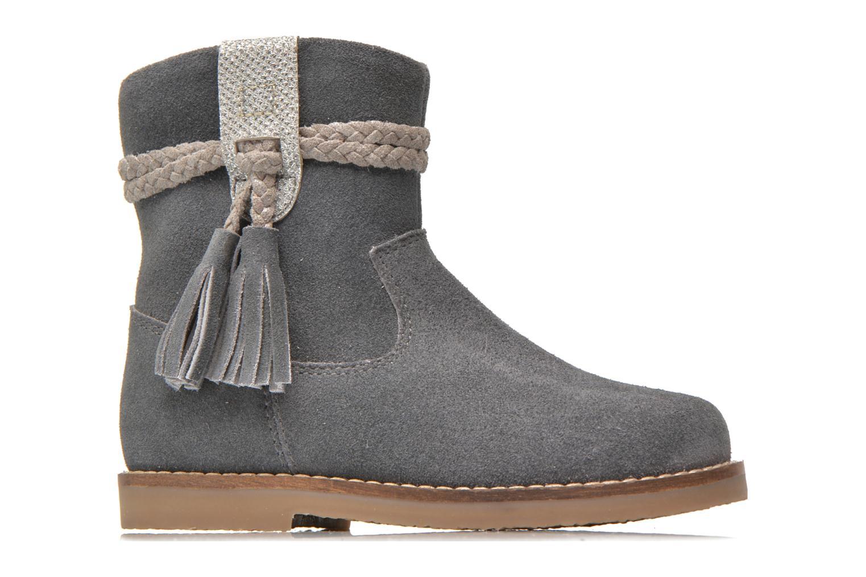 Boots en enkellaarsjes I Love Shoes KERRIES Leather Grijs achterkant