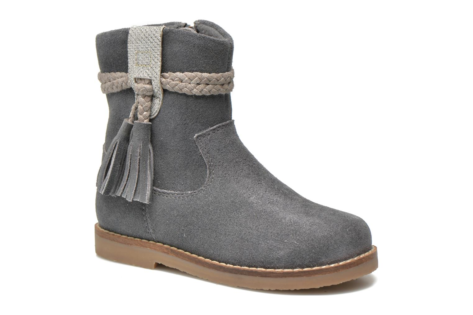 Ankle boots I Love Shoes KERRIES Leather Grey detailed view/ Pair view