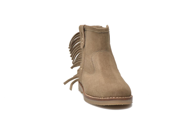 Bottines et boots I Love Shoes KERABAU Leather Beige vue portées chaussures