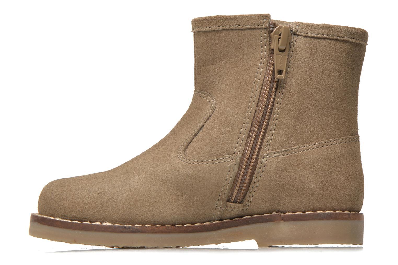 Bottines et boots I Love Shoes KERABAU Leather Beige vue face