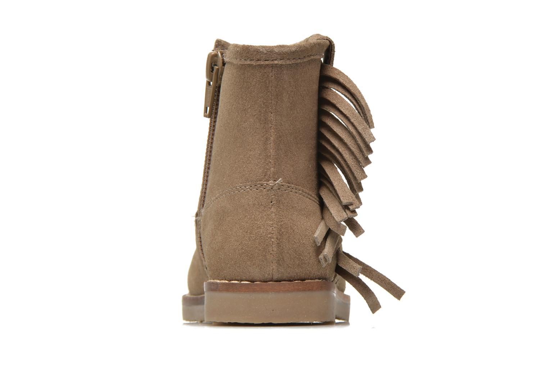 Bottines et boots I Love Shoes KERABAU Leather Beige vue droite