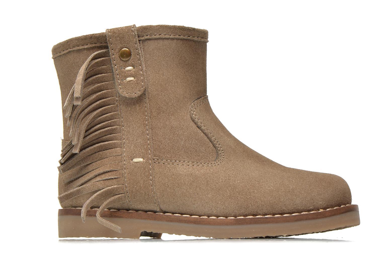Bottines et boots I Love Shoes KERABAU Leather Beige vue derrière