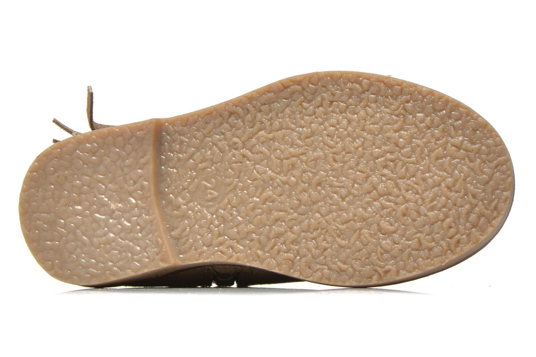 Bottines et boots I Love Shoes KERABAU Leather Beige vue haut