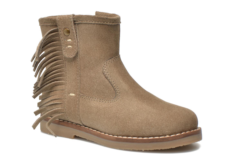 Bottines et boots I Love Shoes KERABAU Leather Beige vue détail/paire