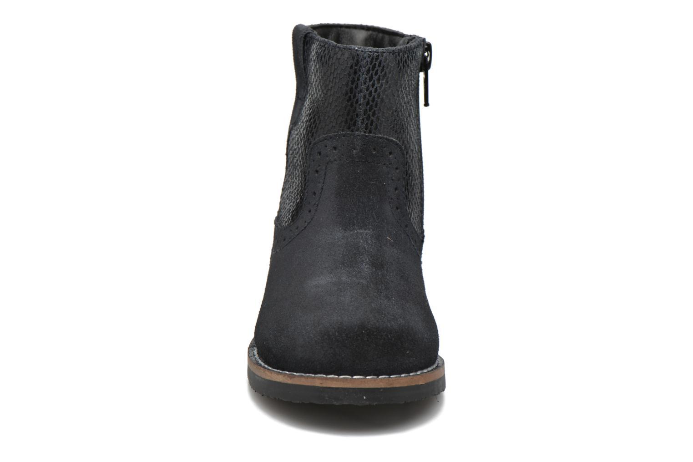 Bottines et boots I Love Shoes KEFFOIS Leather Noir vue portées chaussures