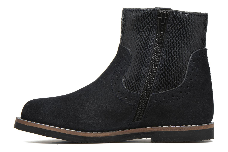 Bottines et boots I Love Shoes KEFFOIS Leather Noir vue face