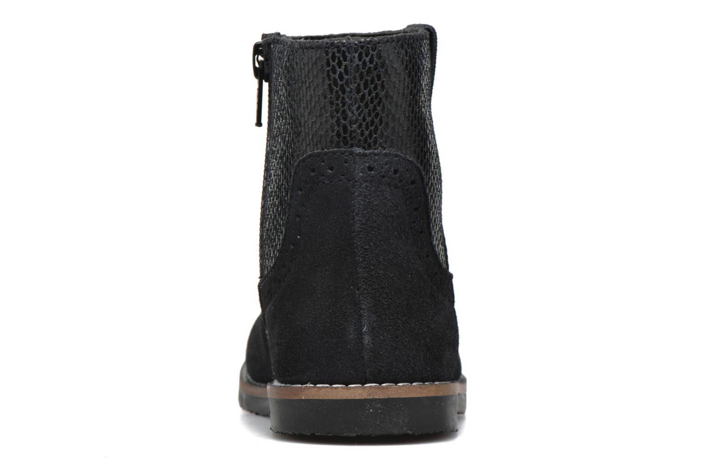 Bottines et boots I Love Shoes KEFFOIS Leather Noir vue droite