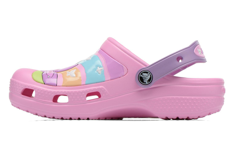 Sandales et nu-pieds Crocs CC Dora Butterfly Cl Rose vue face