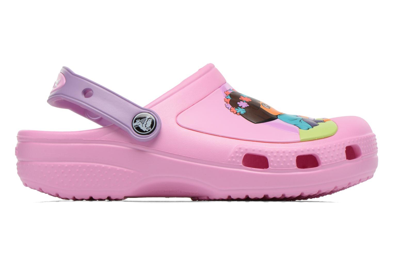 Sandales et nu-pieds Crocs CC Dora Butterfly Cl Rose vue derrière