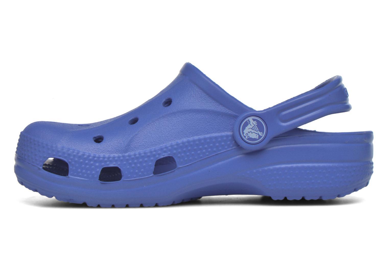 Sandales et nu-pieds Crocs Ralen Clog K Bleu vue face
