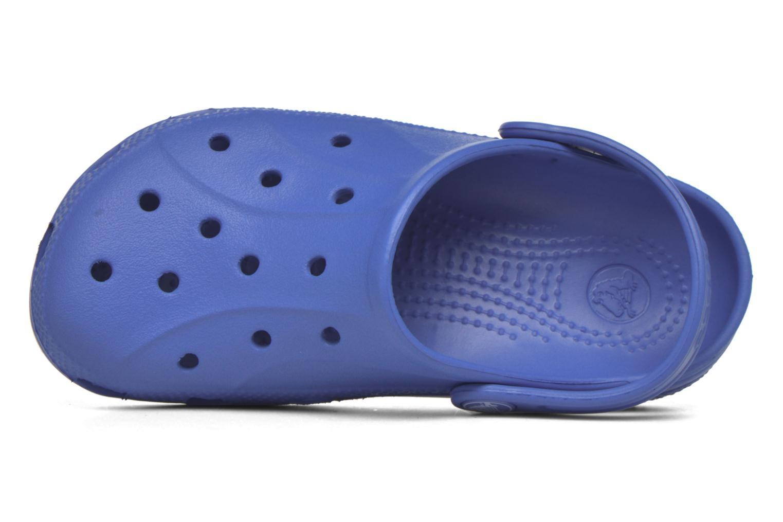 Sandales et nu-pieds Crocs Ralen Clog K Bleu vue gauche