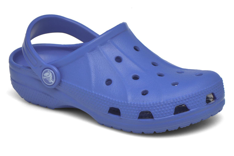 Sandals Crocs Ralen Clog K Blue detailed view/ Pair view