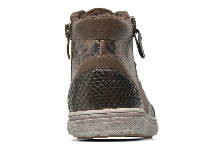 Baskets I Love Shoes SIRQUE Marron vue droite