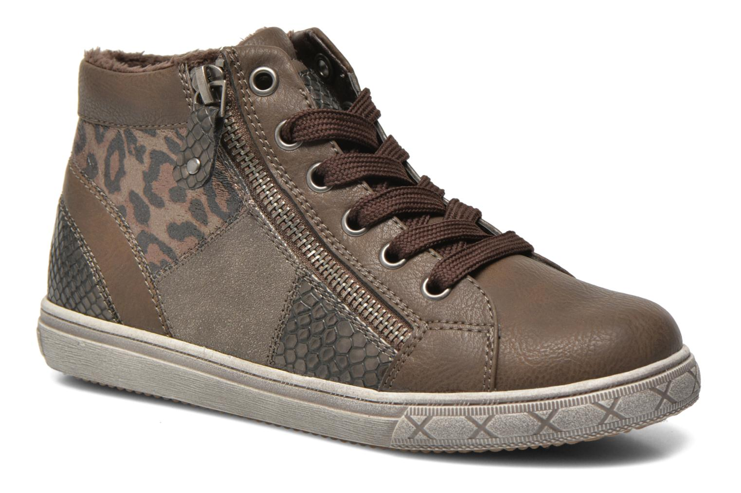 Trainers I Love Shoes SIRQUE Brown detailed view/ Pair view