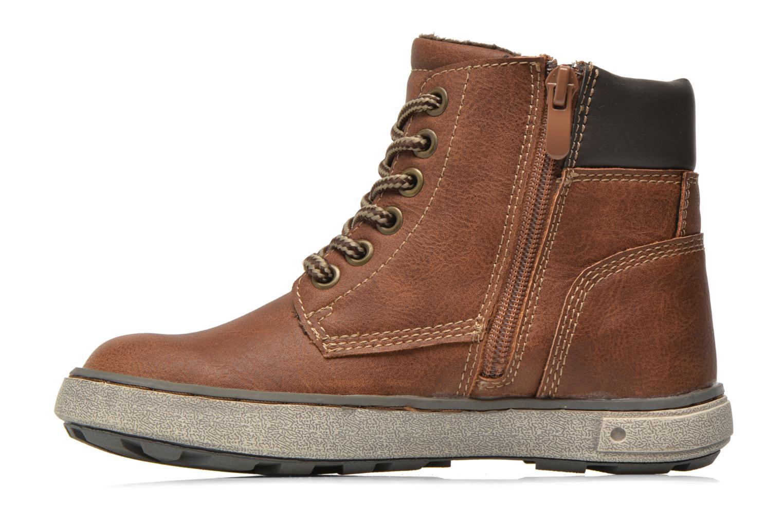 Sneaker I Love Shoes SEPHALO braun ansicht von vorne