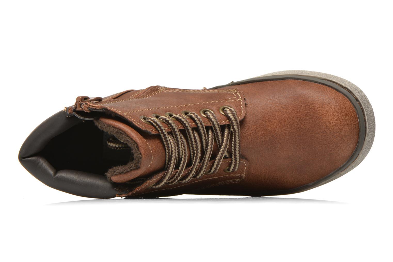 Sneaker I Love Shoes SEPHALO braun ansicht von links