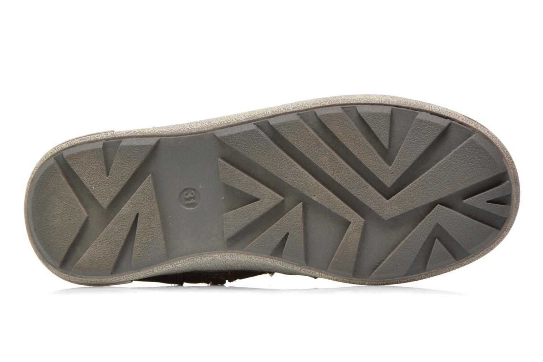 Baskets I Love Shoes SEPHALO Marron vue haut