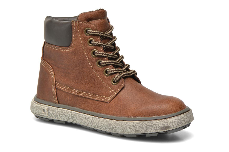 Baskets I Love Shoes SEPHALO Marron vue détail/paire