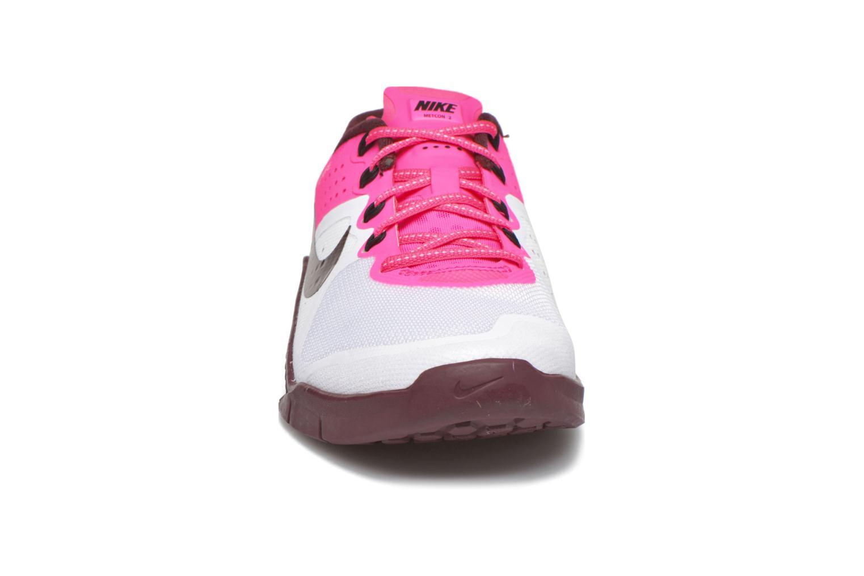 Deportivas Nike Wmns Nike Metcon 2 Blanco vista del modelo