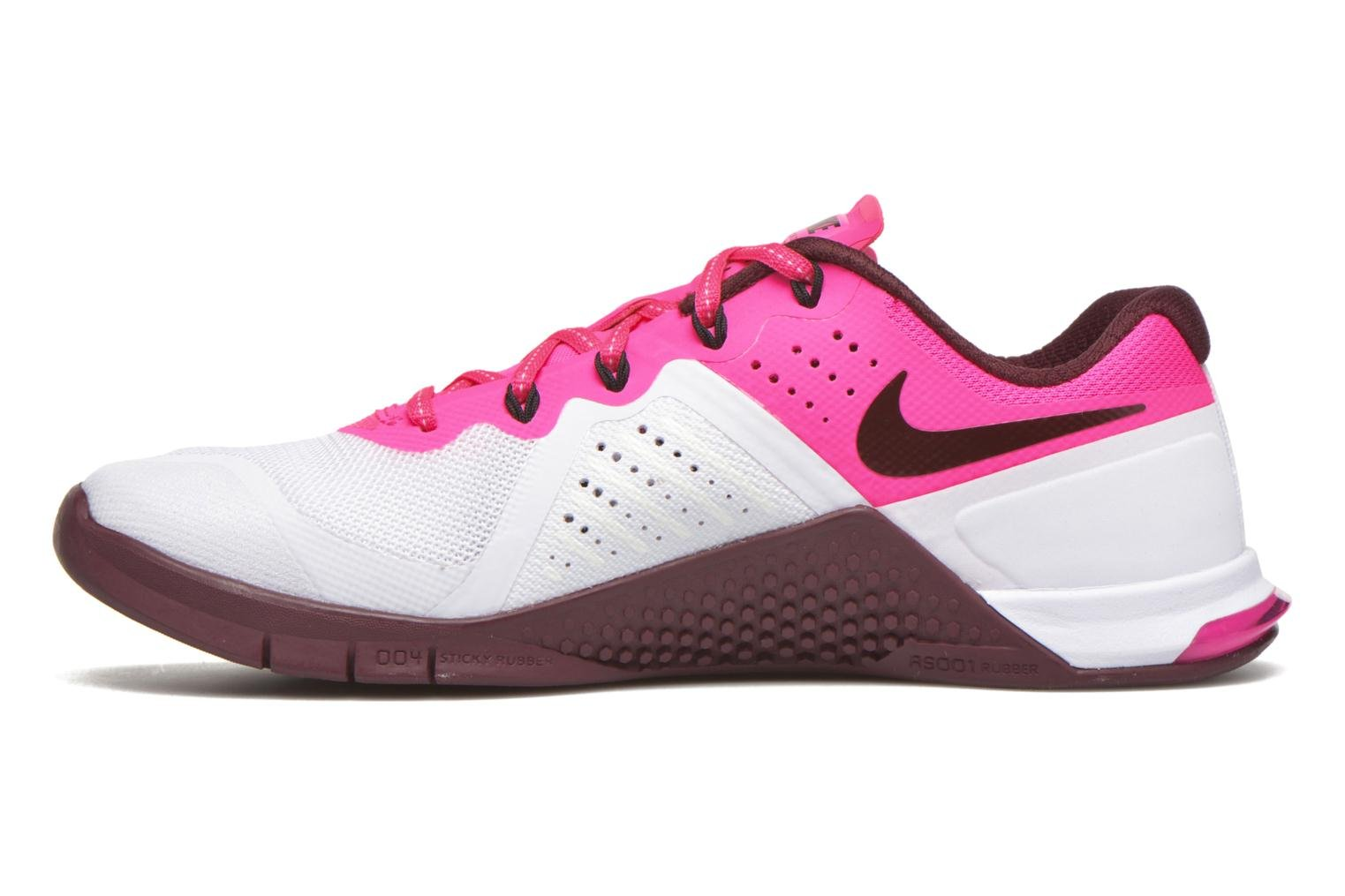Wmns Nike Metcon 2 White/Nght Maroon-Pnk Blst-Blk