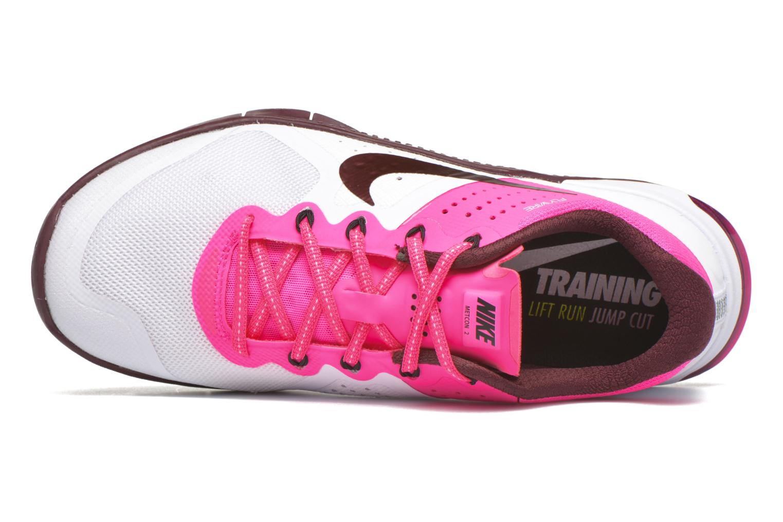 Baskets Nike Wmns Nike Metcon 2 Blanc vue gauche